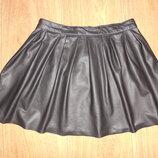 Продаю юбку YD , кожзам, 10-11 лет.