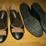 Новые Туфли,балетки, Бренд,качественные,элегантные размер 36,37,38,39,40,41 на средне- широкую стопу