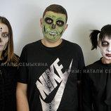 Грим, гримм, макияж на хэллоуин, грим на хэллоуин, сценические образы, 3D макияж