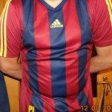 Спортивная оригинальная фирменная футболка футбольная .Adidas Адидас .л