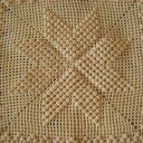Эксклюзивная наволочка шикарного плетения, ручная работа- лучший подарок
