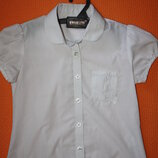 Очаровательная школьная блузка ф.Next р-122в отличном состоянии