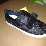 Летние туфли на девочку 32 р. 20 см gfb с ушками, кроссовки, кросовки, туфлі, кросівки, мокасины
