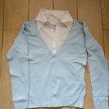 Рубашка-Свитер Обманка , S.