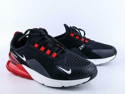 Кроссовки мужские Nike air Max 270 black/ red