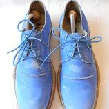 Стильные кожаные туфли Dkode р.41-42 27,8 см Португалия