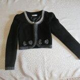Пиджак теплый, нарядный Crystal Girl