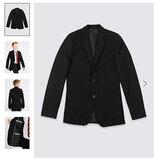 Піджак чорний, 10-12 років, Marks&Spencer, Англія/ пиджак, блейзер