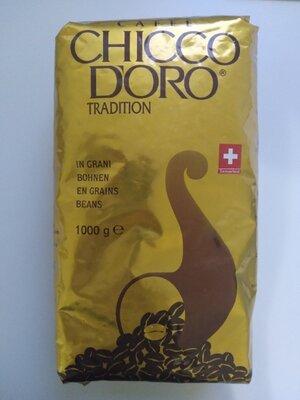 Chicco Doro, 1кг арабика высококачественный швейцарский кофе