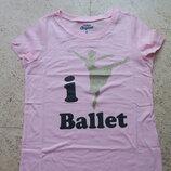 Футболка я люблю балет от Osh Kosh Carters на 8 лет