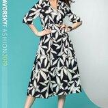 Платье лён 2 цвета 42,44,46 размеры