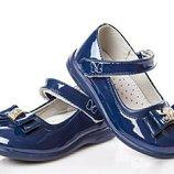 Нарядные лаковые туфли на девочку Clibee красивые