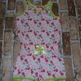 ромпер хб 3-4 года Hema сток большой выбор одежды 1-16 лет