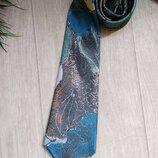 Модный шелковый галстук Christian Dior оригинал
