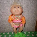 Кукла пупс капустка виниловая 30 см Cabbage Patch Kids O.A.A оригинал клеймо