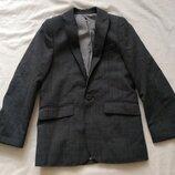 стильный классический школьный пиджак Autograph 8 лет 128 см