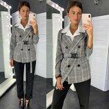 Стильный пиджак,3 цвета