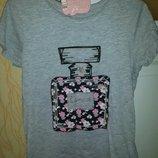 Стильная футболка девочке