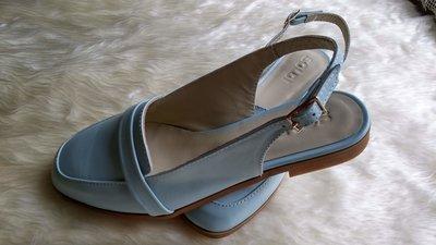 Скидка 200 грн Летние туфли с открытой пяткой. Старая цена 956 грн