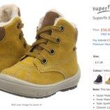Зимние ботинки superfit boys' groovy snow boots 21