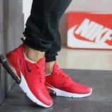 Кроссовки мужские Nike Air Max 270 красные 41-46р