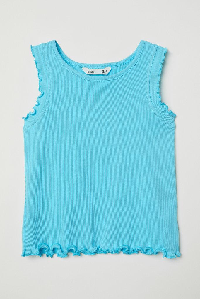 Майка из рельефного трикотажа для девочки H&M: 100 грн - футболки, майки h&m в Днепропетровске (Днепре), объявление №22601284 Клубок (ранее Клумба)