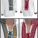 На 2-8 лет, Детская вышиванка, Дитяча вишиванка, Рубашка вышиванка для мальчиков. рубашка, сорочка