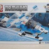 Конструктор Sluban полиция аналог Lego 133 детали М38-В0185. Возраст 5