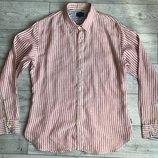 Сорочка/рубашка Paul Smith Jeans Striped Linen Shirt