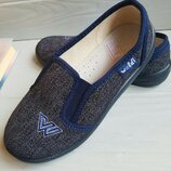 Тапочки/слипоны Waldi Виктор Blue 30-36
