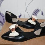силиконовые туфли с бантом ted baker