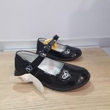 Красивые туфли для девочки тм clibee рр.26 27 28 29 30 31 Польша