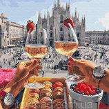 Картина по номерам. Brushme Завтрак в Милане GX28592
