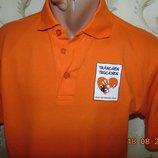 Стильная фирменная тениска поло футболка Printer. m