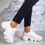 Кроссовки Ultra, натуральная кожа, белые