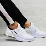 Кроссовки женские Nike Air Max 270 белые 36-41р