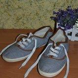 Кеды 39/40, женские кеды,текстильные кеды, кеды, кроссовки женские, кеды в полоску, белые кроссовки