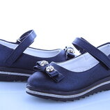 Туфли для девочки бренда BBT, р. 26-31 Маломерят , код - 151