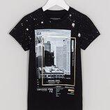 Стильная футболка Matalan, 7 лет-122cм рост.