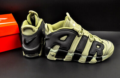 мужские кроссовки Nike Air More Uptempo 41-46р хаки