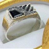 Кольцо перстень серебро 925 проба 7,24 грамма 21 размер
