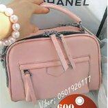 Женская кожаная сумка Нежно розовый цвет кожаные розовые сумки KT32226