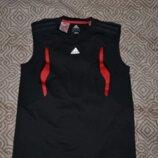 Термо футболка майка Adidas оригинал на 13-14 лет рост 158-16