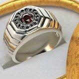 Кольцо перстень серебро 925 проба 8,88 грамма 19,5 размер
