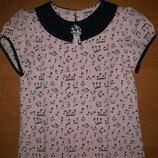 Детская блузка Нотки Тм Marie