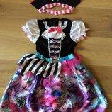 Карнавальное платье Пиратка оригинал 7-8,9-10 лет Дисней