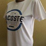 футболка LACOSTE sport оригинал Франция размер S,M