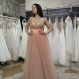 Распродажа Вечернее нежное платье. Турция