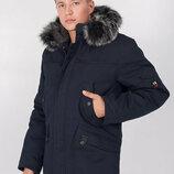 Зимняя мужская куртка парка 46, 48, 50, 52, 54