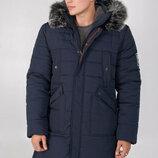 Удлиненная мужская зимняя куртка 46, 48, 50, 52, 54, 56